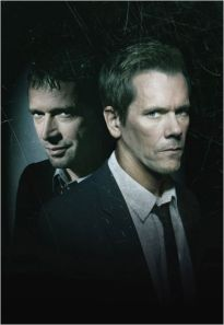 Kevin Bacon y James Purefoy